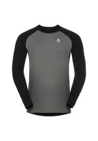Bielizna Odlo Revelstoke Shirt M 150692. Materiał: skóra. Długość rękawa: długi rękaw. Długość: długie