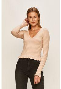 Różowy sweter Brave Soul