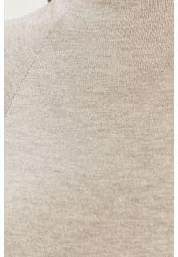 Szary sweter Haily's casualowy, z długim rękawem, na co dzień, długi