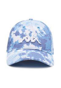Niebieska czapka z daszkiem Kappa