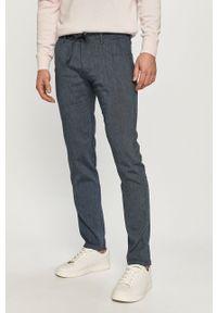 Niebieskie spodnie Marc O'Polo gładkie