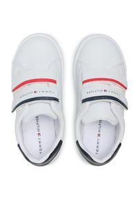 Białe sneakersy TOMMY HILFIGER