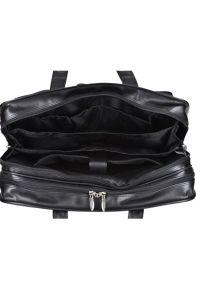 Torba na laptopa MCKLEIN Leather 15.6 cali Czarny. Kolor: czarny. Styl: biznesowy, casual