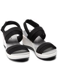 Czarne sandały Clarks