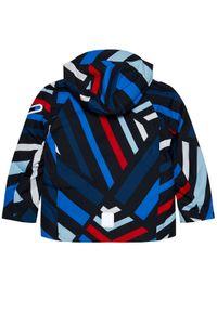 Kurtka sportowa Reima w kolorowe wzory, narciarska