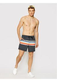 "Quiksilver Szorty kąpielowe Sun Faded 17"" EQYJV03702 Szary Regular Fit. Kolor: szary"