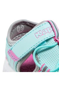 Kappa - Sandały KAPPA - Kyoko 260884K Aqua/Grey 6316. Kolor: zielony. Materiał: materiał, skóra ekologiczna #5