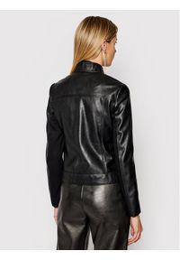 Czarna kurtka przejściowa Trussardi Jeans