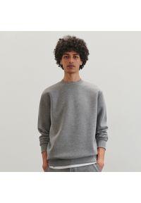 Szara bluza Reserved gładkie