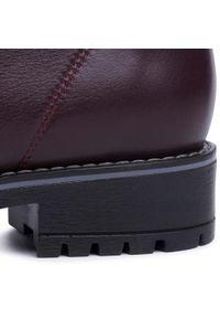 Czerwone buty trekkingowe Baldaccini z cholewką