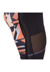 Spodnie damskie do biegania Energetics Coral III 411836. Materiał: poliester, elastan, materiał. Wzór: ażurowy. Sport: fitness