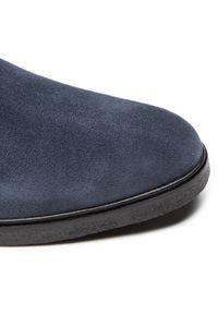 Niebieskie buty zimowe Clarks klasyczne, z cholewką #7