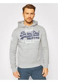 Superdry Bluza Vl Ns Hood M2010494A Szary Regular Fit. Kolor: szary