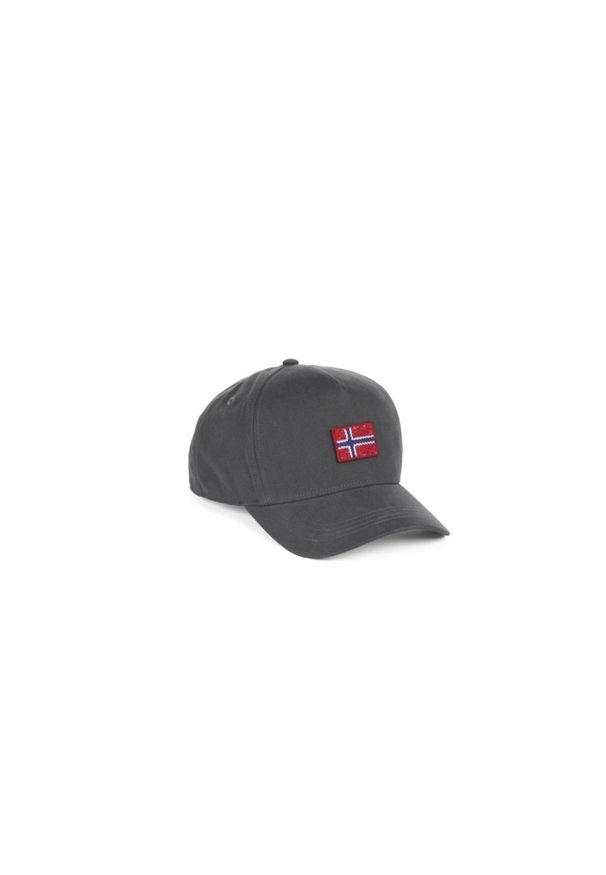 Szara czapka z daszkiem Napapijri
