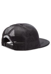 Czarna czapka z daszkiem Vans