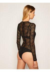 Czarna bluzka body Versace Jeans Couture