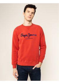 Pepe Jeans Bluza Albert PM581721 Czerwony Regular Fit. Kolor: czerwony