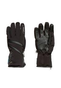 Czarna rękawiczka sportowa Reusch Primaloft, narciarska