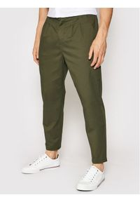 Only & Sons - ONLY & SONS Chinosy Dew 22019208 Zielony Regular Fit. Kolor: zielony #1