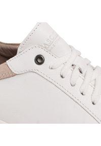 Białe sneakersy Lasocki For Men z cholewką, na co dzień