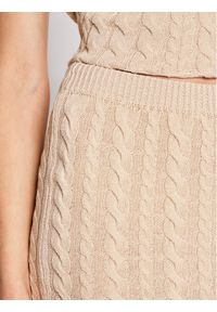 Beżowa spódnica Rinascimento