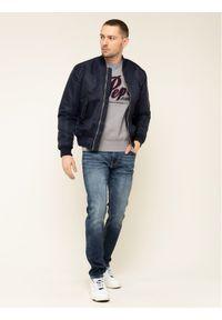 Szary sweter klasyczny Pepe Jeans