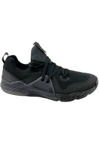 Czarne buty treningowe Nike z cholewką, w kolorowe wzory