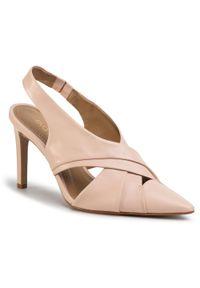 Różowe sandały Eva Longoria