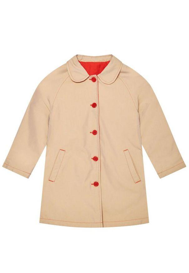 Czerwony płaszcz Little Marc Jacobs