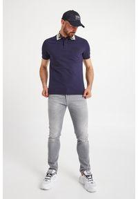 Versace Jeans Couture - POLO VERSACE JEANS COUTURE. Typ kołnierza: polo. Wzór: nadruk, jednolity. Styl: sportowy #4
