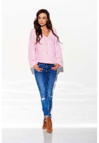 Różowy sweter oversize Lemoniade