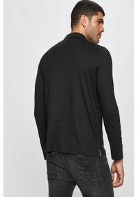 Czarna koszulka z długim rękawem Calvin Klein