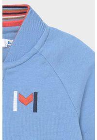 Niebieska bluza rozpinana Mayoral na co dzień, casualowa