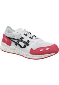 Białe sneakersy Asics lifestyle z cholewką