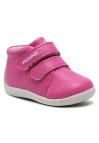 Primigi - Trzewiki PRIMIGI - 7369244 Mage. Kolor: różowy. Materiał: skóra. Szerokość cholewki: normalna