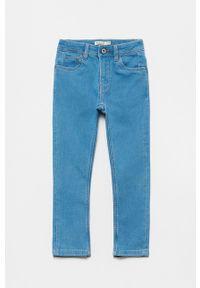 Niebieskie jeansy OVS gładkie