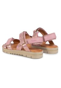 Różowe sandały Froddo na lato
