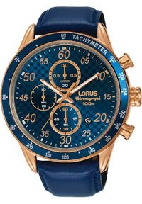 Niebieski zegarek Lorus