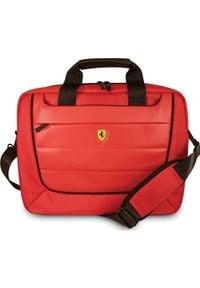 """Torba Ferrari Ferrari Torba FECB15RE laptop 15"""" czerwony/red Scuderia uniwersalny. Kolor: czerwony"""