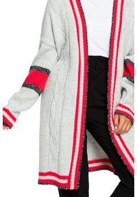 Sweter sportowy, długi