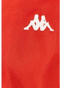 Czerwony komplet dresowy Kappa z aplikacjami