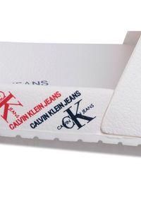 Białe klapki Calvin Klein Jeans