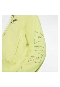 Bluza damska Nike Air CJ3041. Materiał: tkanina. Długość rękawa: raglanowy rękaw. Długość: krótkie #6