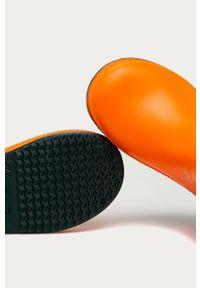 Pomarańczowe kalosze Coqui z cholewką