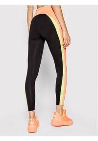 Deha Legginsy Multicolor B44498 Czarny Slim Fit. Kolor: czarny