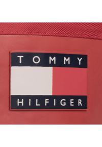 Czerwone kalosze TOMMY HILFIGER klasyczne, z cholewką