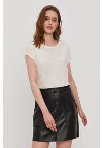 Biała bluzka Vero Moda na co dzień, casualowa
