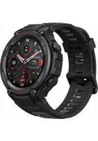 AMAZFIT - Smartwatch Amazfit T-Rex Pro Meteorite Black Czarny (W2013OV1N). Rodzaj zegarka: smartwatch. Kolor: czarny