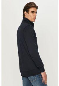Niebieska bluza rozpinana TOMMY HILFIGER na co dzień, z nadrukiem, casualowa