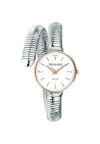 Srebrny zegarek Trussardi Jeans elegancki